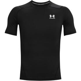 Under Armour HeatGear Armour Short Sleeve Shirt Men black-white